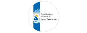 Freie Montessori Grundschule K�nigs Wusterhausen der FAW gGmbH Logo