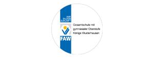 Gesamtschule mit gymnasialer Oberstufe K�nigs Wusterhausen der FAW gGmbH Logo