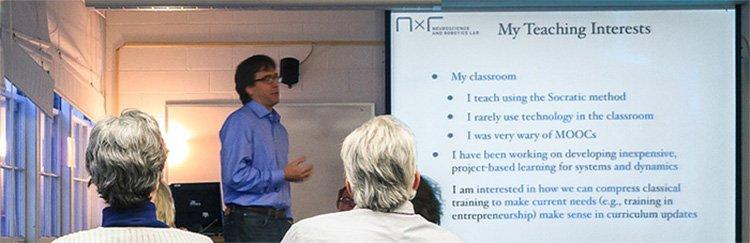 Bild eines Live-Seminars